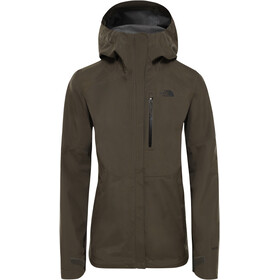 The North Face Dryzzle Kurtka Kobiety, new taupe green